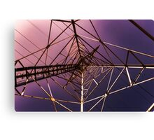 Pylon Abstract Canvas Print