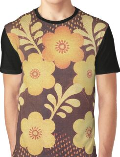 Retro Blumen Design in coolen Sommer fraben (vintage style) Graphic T-Shirt
