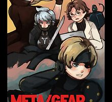 METAL GEAR: SWEET SNAKE by stupahart