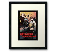 METAL GEAR: SWEET SNAKE Framed Print