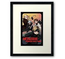 METAL GEAR: SWEET SNAKE Framed Print
