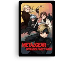 METAL GEAR: SWEET SNAKE Canvas Print