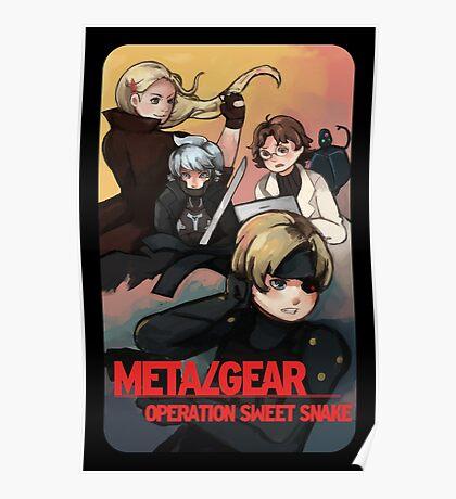 METAL GEAR: SWEET SNAKE Poster