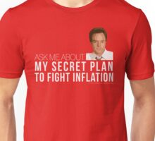 Josh Lyman Tee - Secret Plan to Fight Inflation Unisex T-Shirt