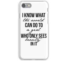 Emily Prentiss Quote iPhone Case/Skin