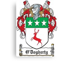 O'Dogherty Coat of Arms (Donegal) Canvas Print