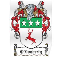 O'Dogherty Coat of Arms (Donegal) Poster