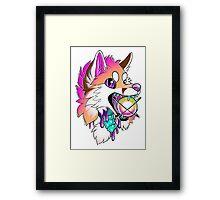 Fox Gore Framed Print
