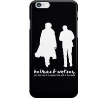 [Sherlock] - Holmes & Watson iPhone Case/Skin