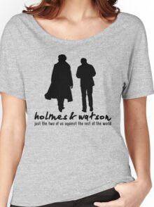 [Sherlock] - Holmes & Watson Women's Relaxed Fit T-Shirt