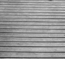 Black and White Dock Sticker