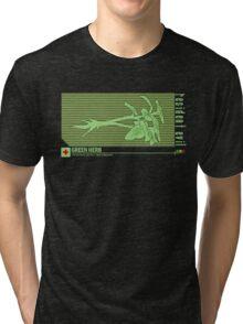 Resident Evil Green Herb Tri-blend T-Shirt