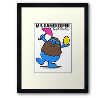 Mr. Gamekeeper Framed Print