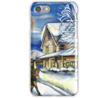 Sleigh Ride in the Country iPhone Case/Skin