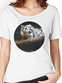 Sleeping Tiger Women's Relaxed Fit T-Shirt