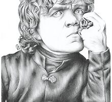 Tyrion - Biro Drawing by BethanApple