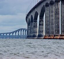 The Confederation Bridge by Kathleen Daley