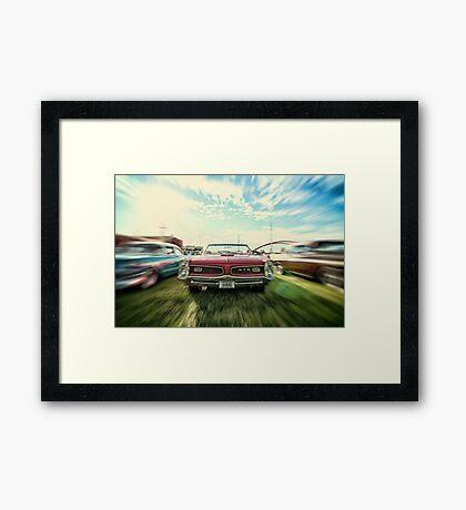 1966 Pontiac GTO Framed Print
