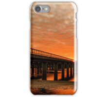 Red Water of the Barwon iPhone Case/Skin