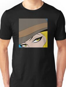 Girls Eyes Halftone Unisex T-Shirt