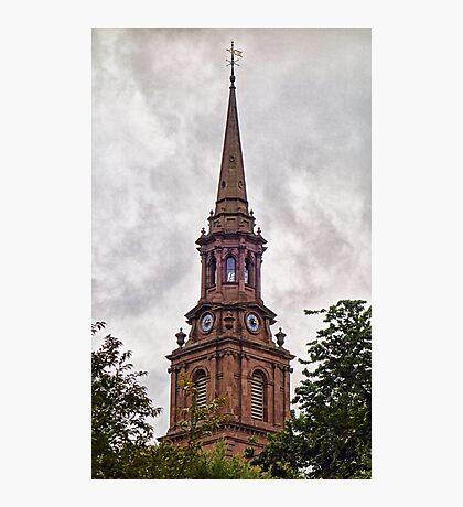 Arlington Street Church Steeple  Photographic Print