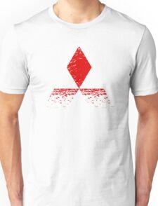 Mitsubishi Logo Rust Unisex T-Shirt