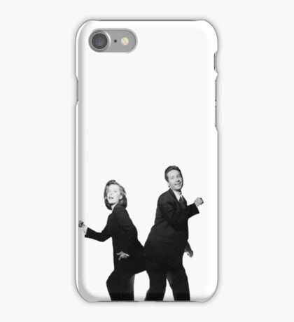 X Files // They boogie iPhone Case/Skin