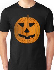 Halloween Pumpkin Illustration Unisex T-Shirt