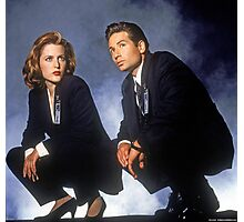 X Files // Scully & Mulder Photographic Print