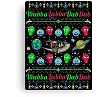 A Wubba Lubba X-mas Canvas Print