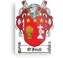 O'Friell Coat of Arms (Donegal) Metal Print