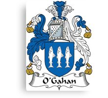 O'Gahan Coat of Arms (Donegal) Canvas Print