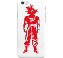 Warrior (red) iPhone Case/Skin