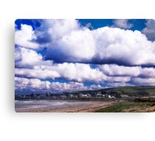Gathering clouds Canvas Print