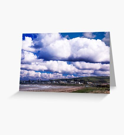 Gathering clouds Greeting Card