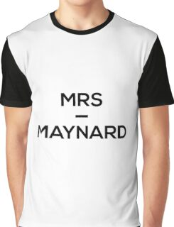Mrs Maynard - Jack & Conor Maynard! Graphic T-Shirt