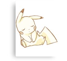 Sleepy Chu Canvas Print