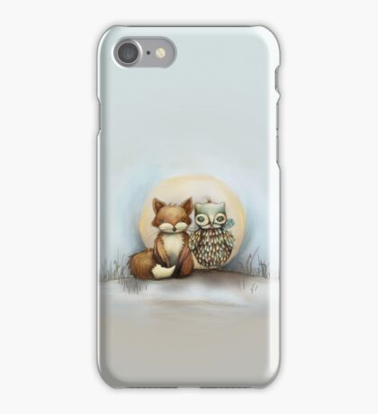 fox and owl iPhone Case/Skin