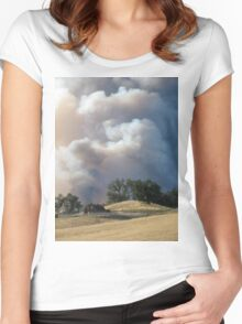 In The Path of Fire Women's Fitted Scoop T-Shirt
