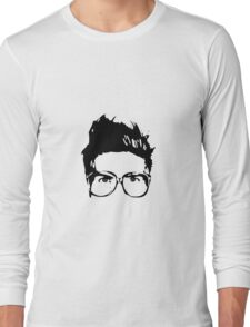Joey Graceffa SIlhouette Head Long Sleeve T-Shirt