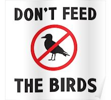 Dont Feed the Birds Poster