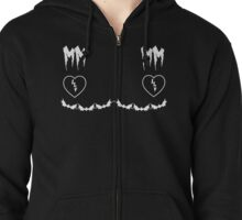 REACH OUT AND TOUCH FAITH  Zipped Hoodie