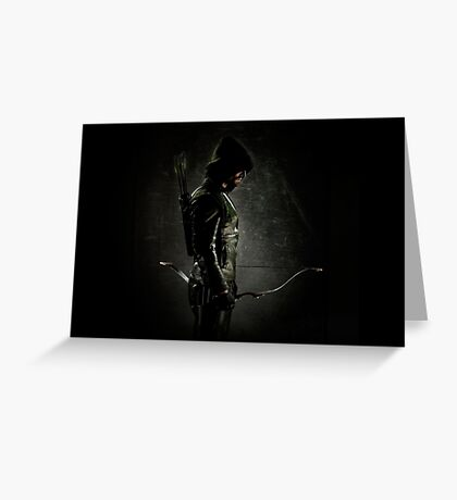 Arrow CW Oliver Queen Greeting Card