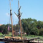 Pride of Baltimore II - Bay City Visit by Francis LaLonde