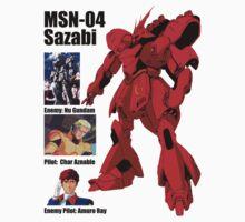 love the nation MSN-04 Sazabi  by benyuenkk