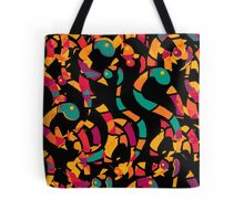 Colorful snakes Tote Bag
