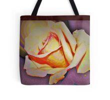 A rose in the sun Tote Bag