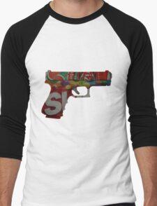 Armed and Dangerous Men's Baseball ¾ T-Shirt