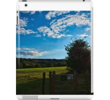 Countryside Summers Evening iPad Case/Skin