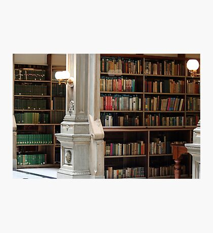 You can never have too many books.......... Photographic Print